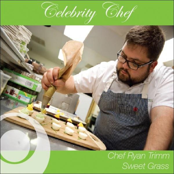 Celebrity Chef  Ryan Trimm