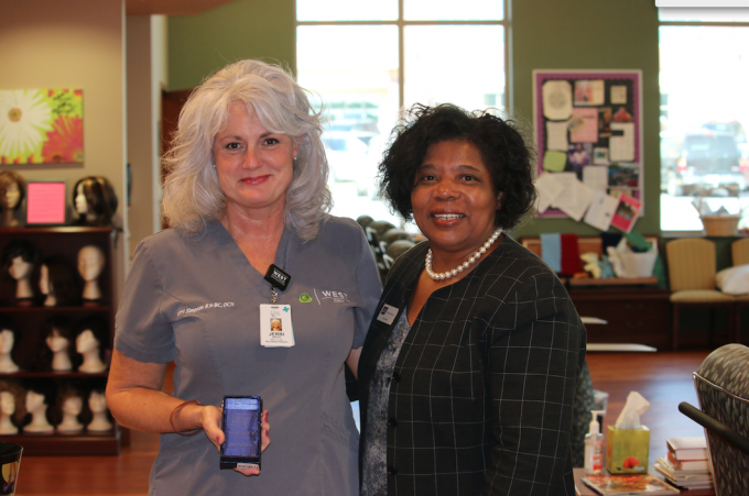 Corinth Nurse Receives American Cancer Society Excellence in Best Practice Award
